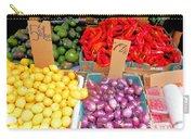 Market At Bensonhurst Brooklyn Ny 6 Carry-all Pouch