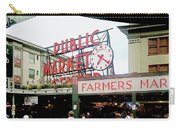 Market Closeup Carry-all Pouch
