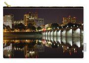 Market Street Bridge Reflections Carry-all Pouch by Shelley Neff