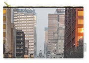 Market Street Philadelphia - In The Morning Carry-all Pouch