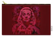 Marlene In Red  Carry-all Pouch