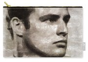 Marlon Brando, Vintage Actor Carry-all Pouch