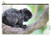 Marmoset Sitting Perched In A Tree Carry-all Pouch