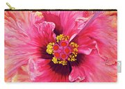 Maron's Hibiscus Carry-all Pouch