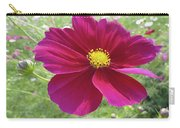 Maroon And Yellow Cosmos Carry-all Pouch