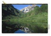 Maroon Bells At Maroon Lake Carry-all Pouch