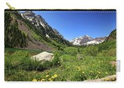 Maroon Bells In Summer 2 Carry-all Pouch