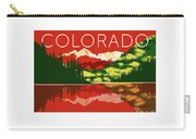 Maroon Bells Sunset Carry-all Pouch by Sam Brennan
