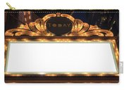 Marquee Lights Blank Sign Carry-all Pouch