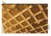 Marquee Lights On Theater Ceiling Carry-all Pouch