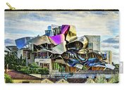 marques de riscal Hotel at sunset - frank gehry - vintage version Carry-all Pouch