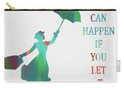 Marry Poppins Quote Carry-all Pouch