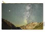Mars And The Milky Way Carry-all Pouch
