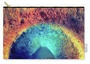 Mars Crater Surface Colorful Painting Carry-all Pouch