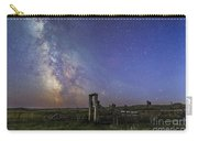 Mars, Saturn & Milky Way Over Ranch Carry-all Pouch