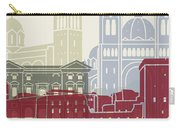 Marseille Skyline Poster Carry-all Pouch