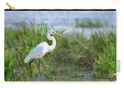 Marsh Egret Carry-all Pouch