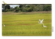 Marsh Egrets Carry-all Pouch