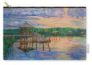 Marsh View At Pawleys Island Carry-all Pouch by Kendall Kessler