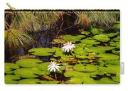 Marsh Waterlilies  Carry-all Pouch