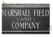 Marshall Field Plaque Carry-all Pouch