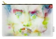 Marshall Mcluhan - Watercolor Portrait Carry-all Pouch