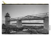 Marshall Point Light Sunset Bw Carry-all Pouch