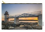 Marshall Point Light Sunset Carry-all Pouch