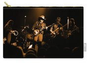 Marshall Tucker Winterland 1975 #12 Enhanced In Amber Carry-all Pouch