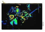 Marshall Tucker Winterland 1975 #14 Enhanced In Cosmicolors Carry-all Pouch