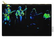 Marshall Tucker Winterland 1975 #18 Enhanced In Cosmicolors Carry-all Pouch