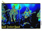 Marshall Tucker Winterland 1975 #18 In Special Cosmicolors With Text Carry-all Pouch