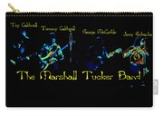 Marshall Tucker Winterland 1975 #19 Enhanced In Cosmicolors With Text Carry-all Pouch