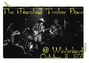 Marshall Tucker Winterland 1975 #3 Crop 2 With Text Carry-all Pouch