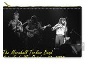 Marshall Tucker Winterland 1975 #37 Crop 2 With Text Carry-all Pouch