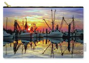 Marshallberg Harbor Sunset Carry-all Pouch