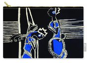 Martha And Mary Of Bethany Carry-all Pouch by Gloria Ssali