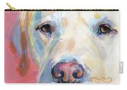 Martha's Pink Nose Carry-all Pouch by Kimberly Santini