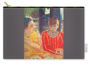 marthe in red blouse c1928 Pierre Bonnard Carry-all Pouch
