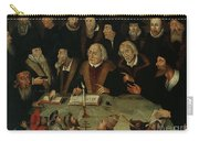Martin Luther In The Circle Of Reformers Carry-all Pouch