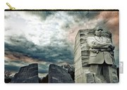 Martin Luther King Memorial At Sunset Carry-all Pouch