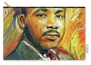 Martin Luther King Portrait 2 Carry-all Pouch