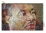Martin Luther King Portrait Mosaic 1 Carry-all Pouch