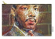 Martin Luther King Portrait Mosaic 2 Carry-all Pouch