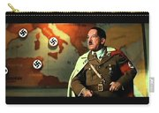 Martin Wuttke As Adolf Hitler Number One Inglourious Basterds 2009 Color Added 2016 Carry-all Pouch