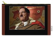 Martin Wuttke As Adolf Hitler Number Two Inglourious Basterds 2009 Frame Added 2016 Carry-all Pouch