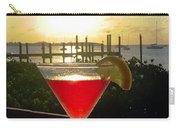 Martini At Sunset II Carry-all Pouch