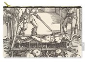 Martyrdom Of Saint Lawrence Carry-all Pouch
