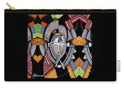 Maruvian Silver Mask Carry-all Pouch