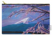 Marvellous Mount Fuji With Cherry Blossom In Japan Carry-all Pouch
